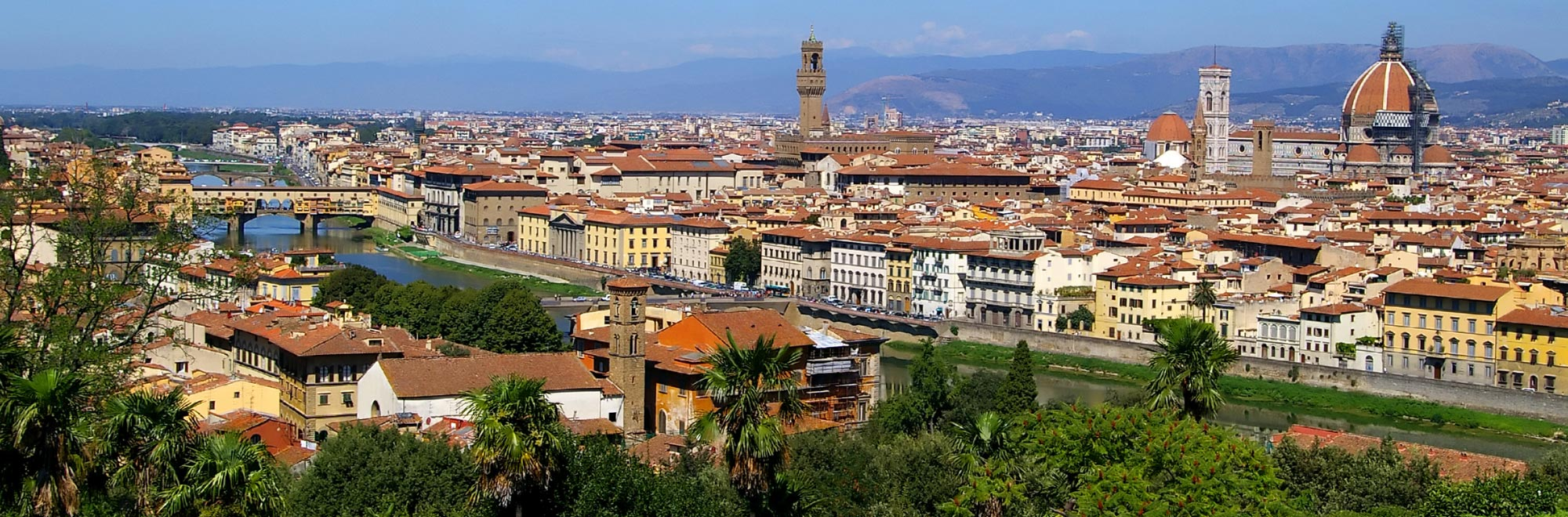Guided tours of Florence with a professional tourist guide