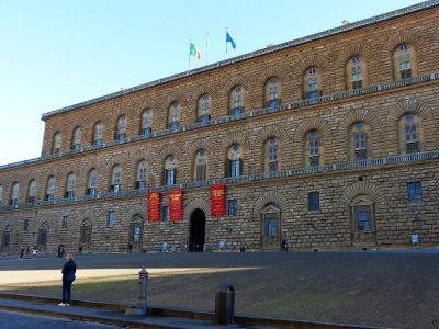 The Pitti Palace and the Boboli gardens
